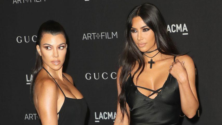 Kourtney und Kim Kardashian
