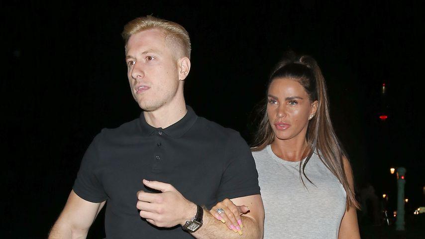 Kris Boyson und Katie Price im Juli 2018