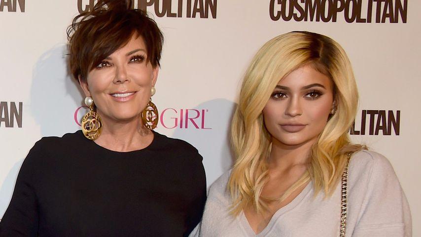 Kris Jenner und ihre Tochter Kylie Jenner