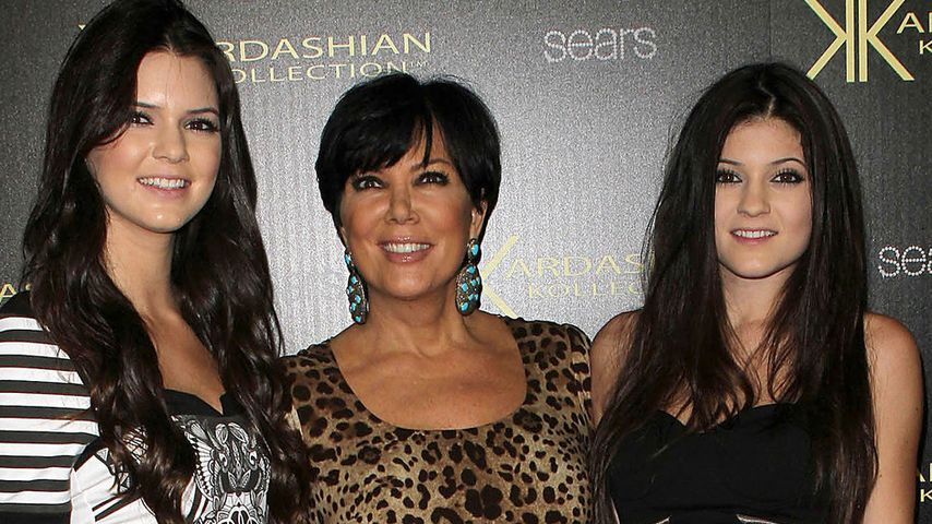Kylie Jenner, Kendall Jenner und Kris Jenner