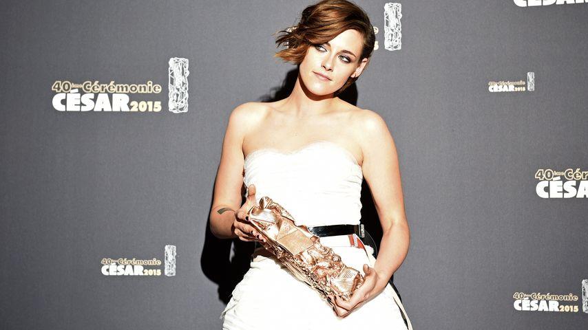 Kristen Stewart mit einem Cesar