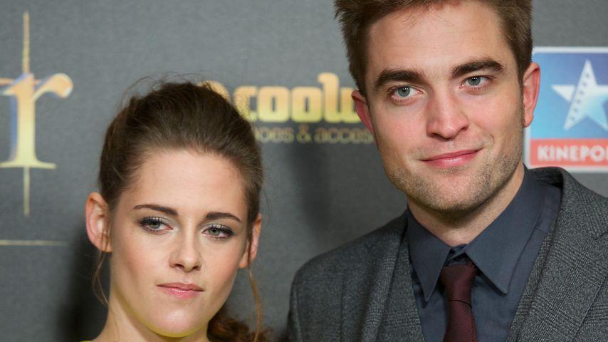 """Kristen Stewart und Robert Pattinson bei der Premiere von """"Breaking Dawn - Part 2"""" in Madrid"""