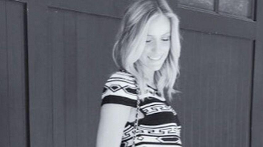Perfekt gestylt: Kristin Cavallaris schöner Schwanger-Look!