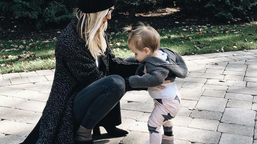 Kristin Cavallaris Tochter Saylor: Nun tapst sie drauf los!