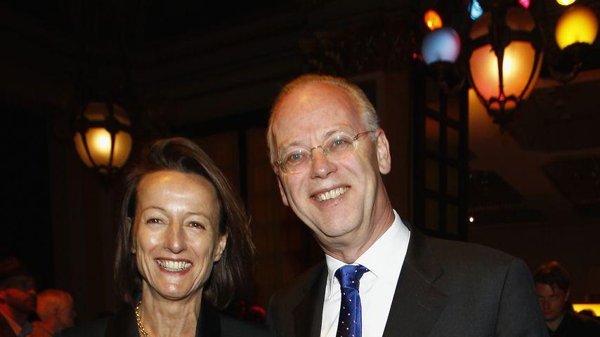 Kristina Gräfin Pilati und Rudolf Scharping beim Hesse Movie Award
