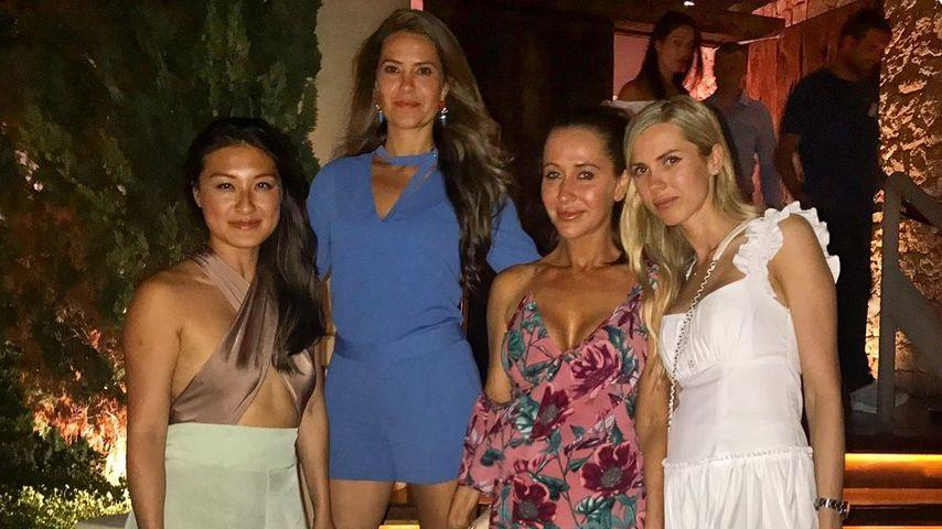 Krystal Koo, Kellie Smith, Jessica Mulroney und Karolina Segal