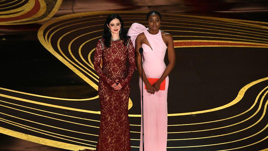 Krysten Ritter und KiKi Layne bei der 91. Oscar-Verleihung