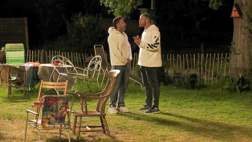 """Kubilay Özdemir  und Andrej Mangold bei """"Das Sommerhaus der Stars"""""""