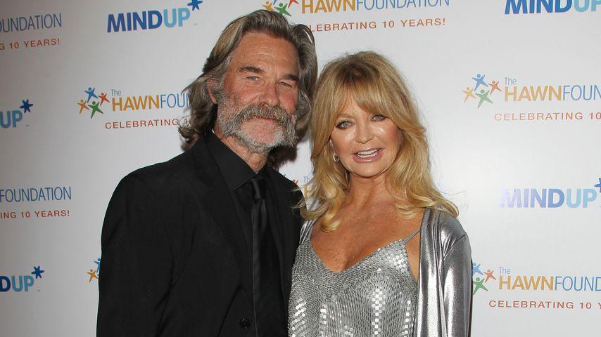 Goldie Hawn und Kurt Russell