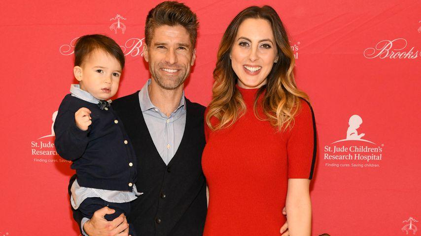 Kyle Martino und Eva Amurri Martino und ihre Kinder