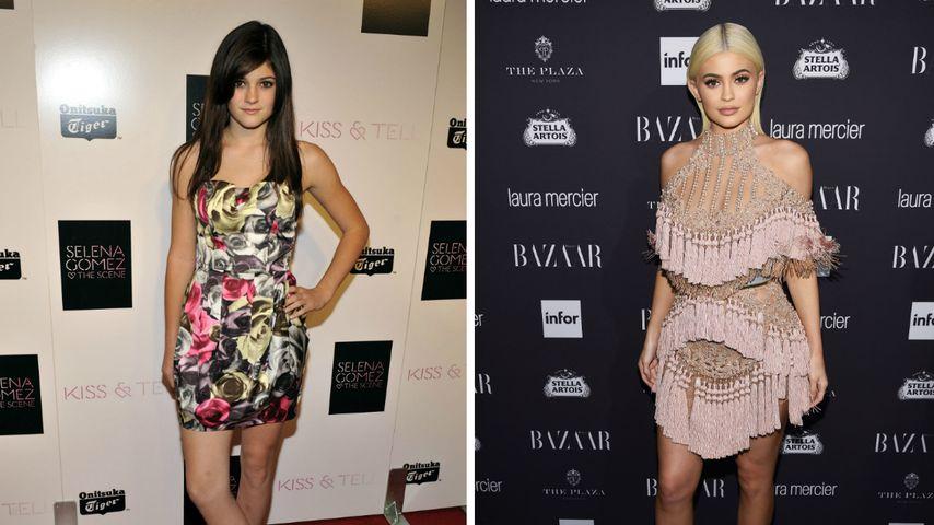 Kylie Jenner, 2008 und 2016