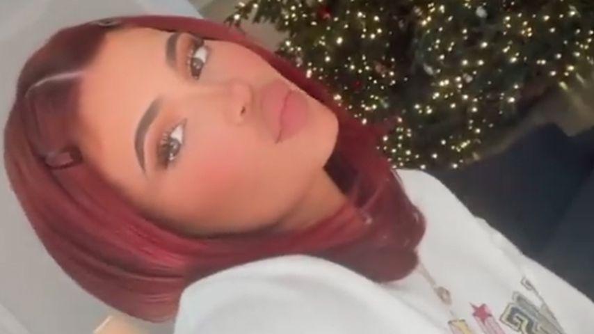 Kylie Jenner mit ihren echten Haaren