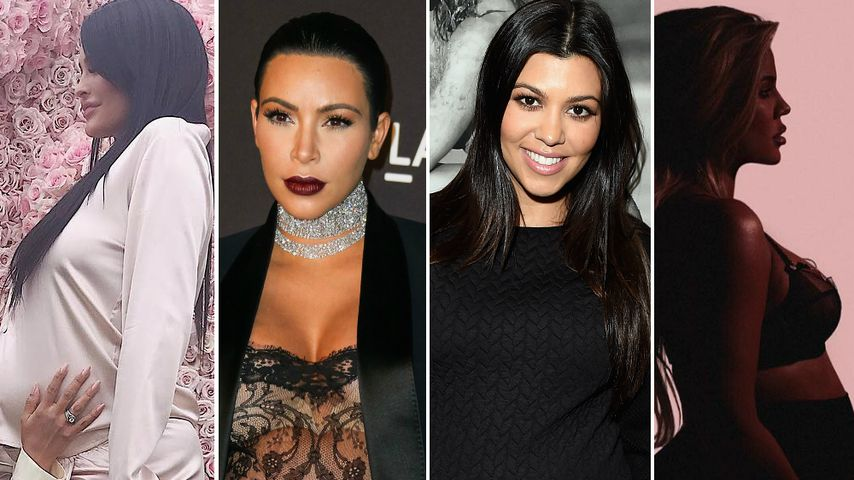 Kylie, Kim & Co.: Wer hat die heißeste Kardashian-Babykugel?