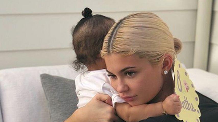 Kylie Jenner mit Tochter Stormi Webster