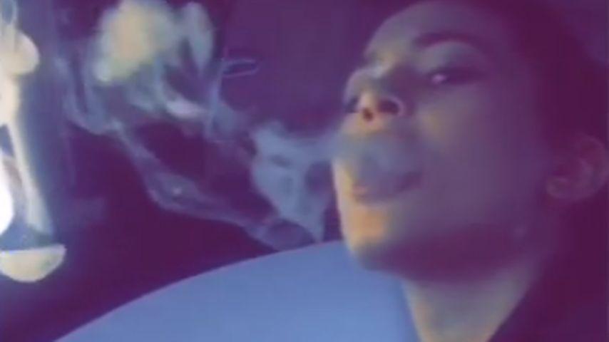 Kylie Jenner hat ein Laster: Sie raucht wie ein Schlot