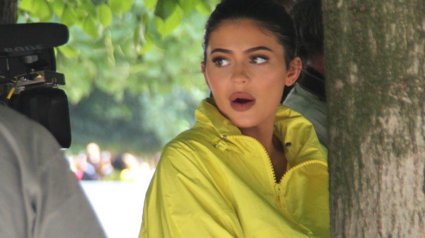 Kylie Jenner auf der Pariser Fashion Week