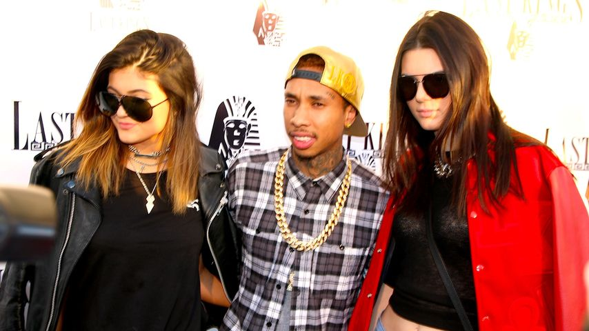 Tyga, Kylie Jenner und Kendall Jenner