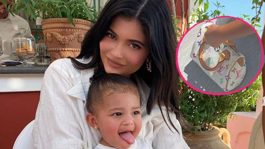 Kylie Jenners Tochter (2) trägt ein Täschchen für 810 Euro!