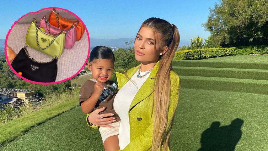 Kylie Jenner kauft Tochter vier Prada-Taschen für 3.800 Euro