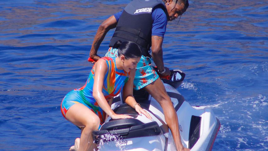 Kylie Jenner und Travis Scott