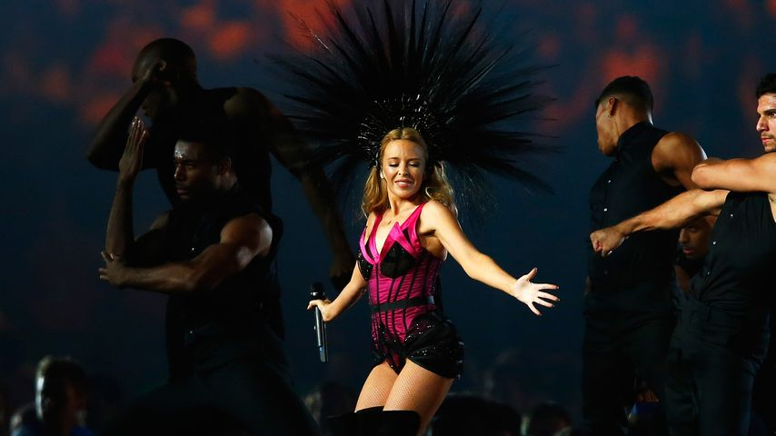 Kylie Minogue bei den Commonwealth Games 2014