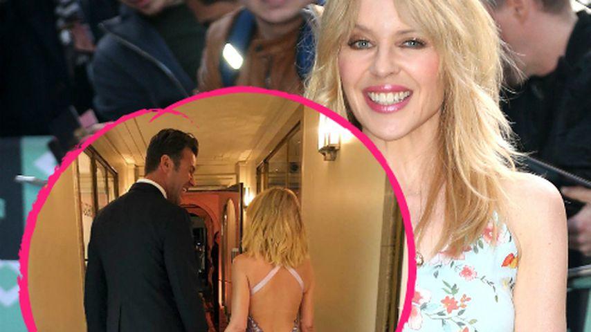 Mit ihrem Schatz: Kylie Minogue postet seltenes Pärchen-Pic