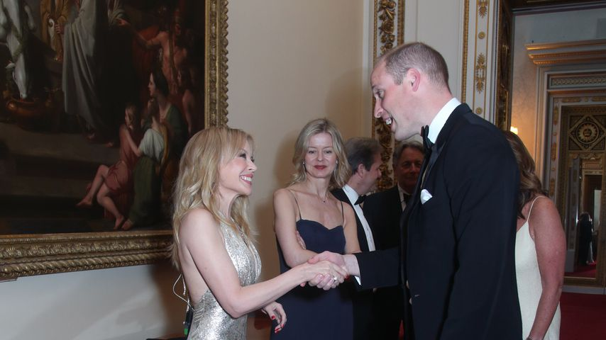 Royal-Meeting: Kylie Minogue traf Prinz William in London!