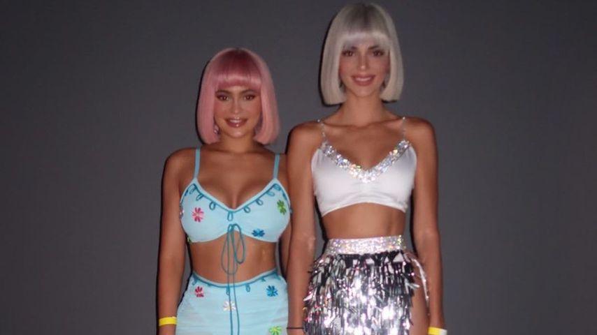 Kylie und Kendall Jenner im Oktober 2020