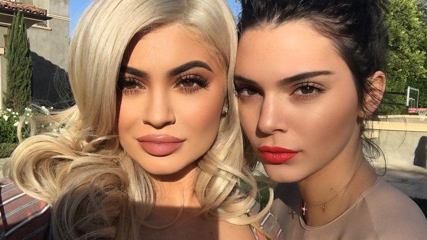 Kylie und Kendall Jenner, die jüngsten des Kardashian-Jenner-Klans