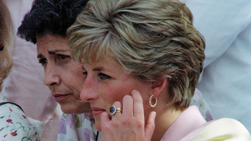 Prinzessin Diana 1991 in Rio de Janeiro