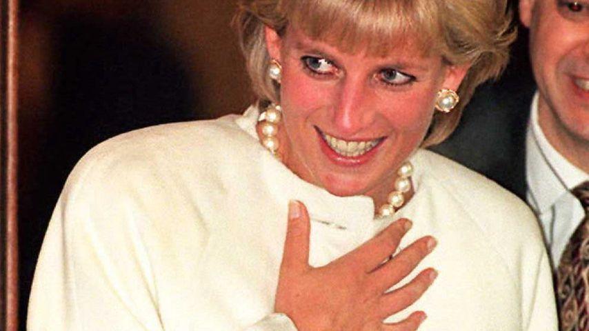Prinzessin Diana bei einem Lunch 1996 in London