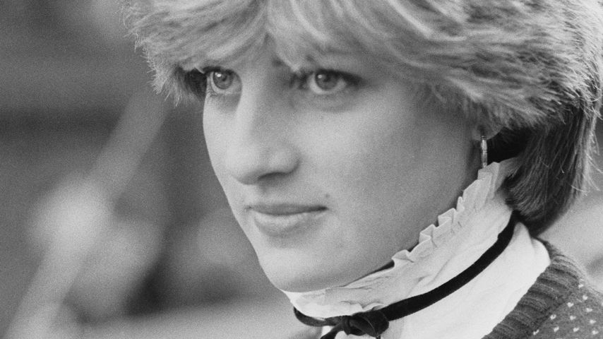 Lady Diana Spencer im November 1980 in London