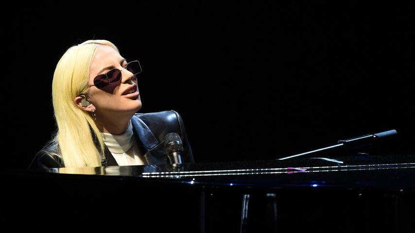 Lady Gaga bei einem Konzert in Las Vegas