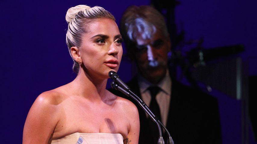 Lady Gaga während der Veranstaltung der SAG AFTRA-Stiftung