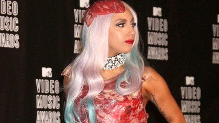 Lady GaGas Fleisch-Kleid wird zum Kult-Outfit