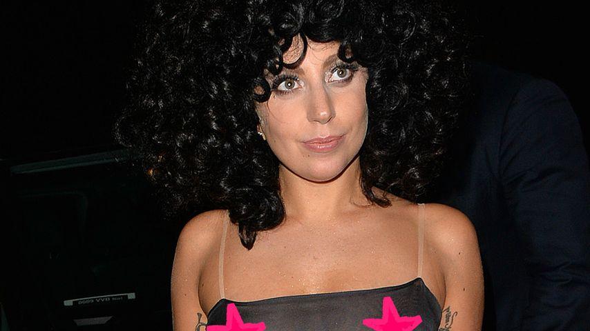 Lady GaGa feiert durchsichtige After-Show-Party