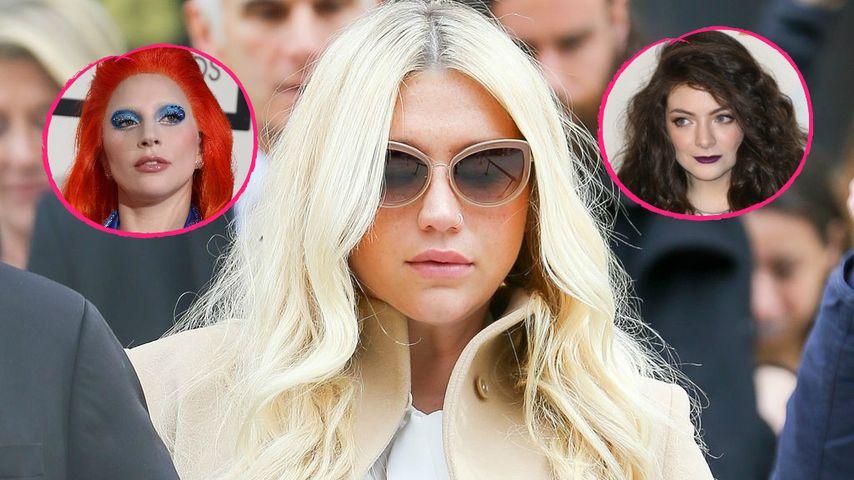 Leidende Kesha: Lady GaGa, Lorde & Co. stehen hinter ihr!