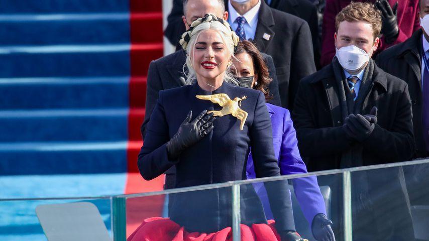 Lady Gaga bei Joe Bidens Vereidigung