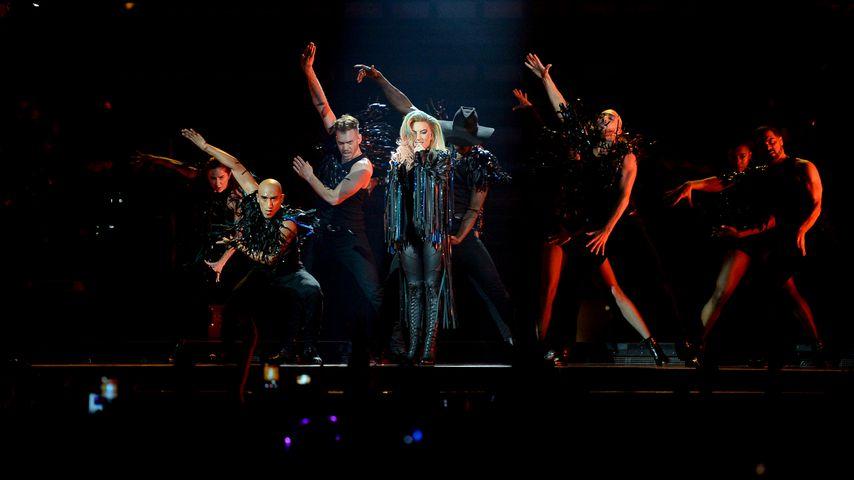 Lady GaGa auf einem Konzert in Montreal