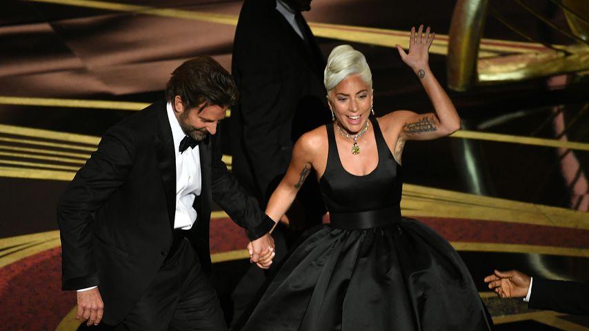Lady Gaga und Bradley Cooper während der 91. Oscar-Verleihung