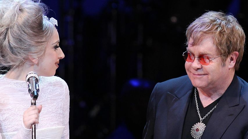 Sie lebt gefährlich! Elton John sorgt sich um GaGa