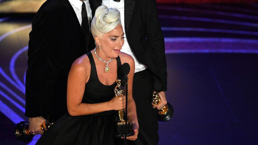 Lady Gaga bei ihrer Oscar-Dankesrede