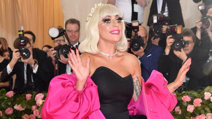 Lady Gaga auf dem roten Teppich der Met-Gala 2019