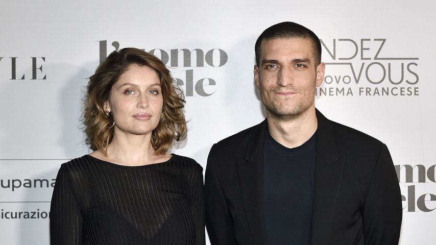 Laetitia Casta und Louis Garrel in Mailand, April 2019
