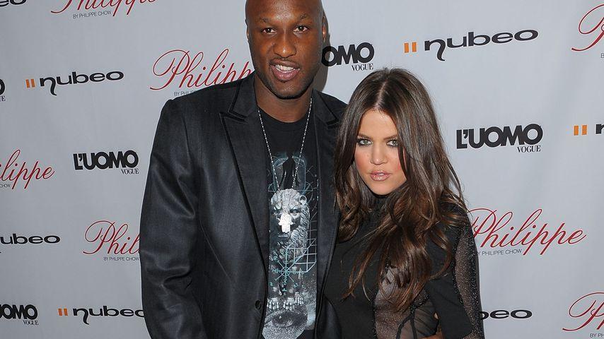 Lamar Odom und Khloe Kardashian bei einer Restaurant-Eröffnung 2009