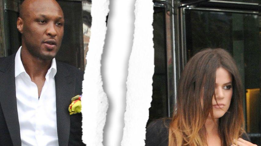 Khloe Kardashian und Lamar Odom
