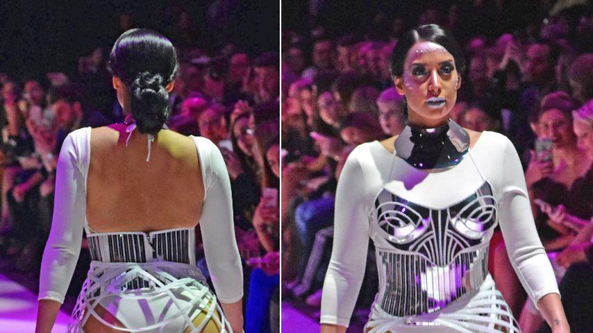 Mega-Knack-Po! YouTube-Star Lamiya Slimani als Curvy-Model