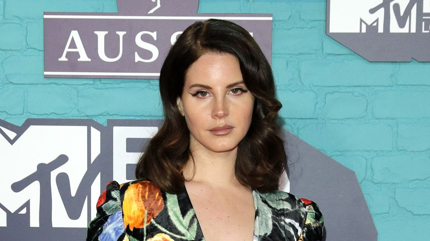 Lana Del Rey bei den EMAs 2017 in London