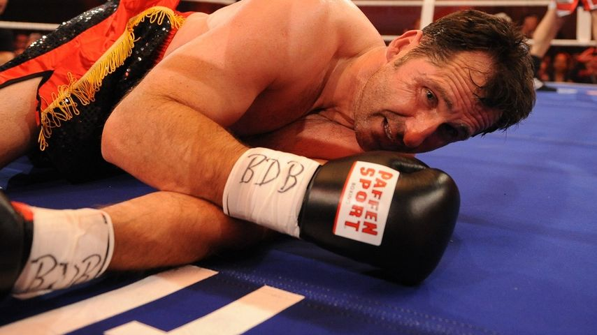 Promi-Boxen: Lars Riedel in die Knie gezwungen!