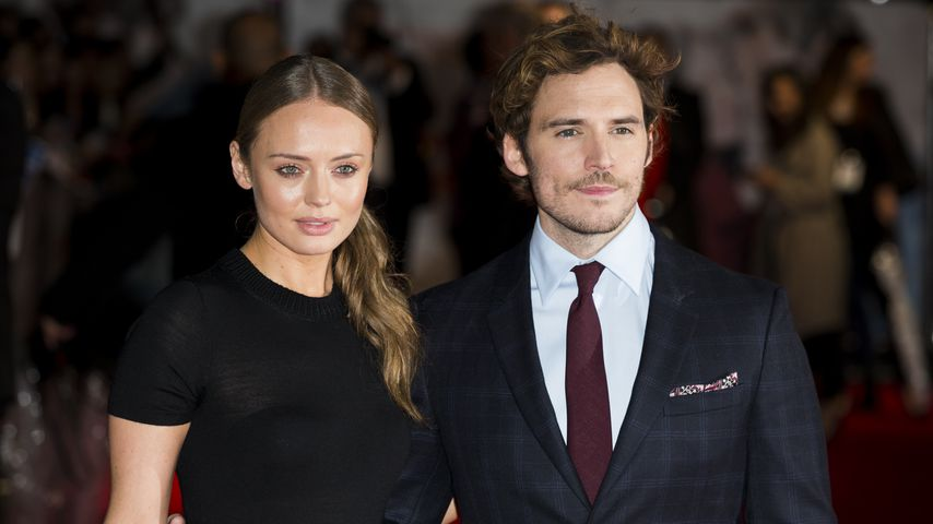 Laura Haddock und Sam Claflin in London
